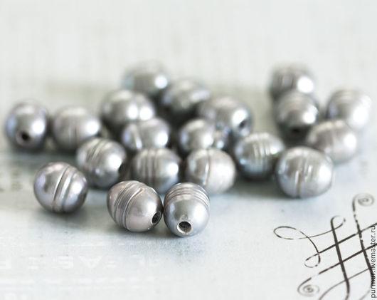 Для украшений ручной работы. Ярмарка Мастеров - ручная работа. Купить 1398_Серый жемчуг 10-12 мм, Натуральный жемчуг, Пресноводный жемчуг.. Handmade.
