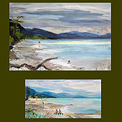 Картины и панно handmade. Livemaster - original item Seascapes. Handmade.