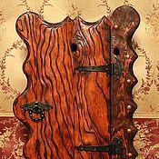 Для дома и интерьера ручной работы. Ярмарка Мастеров - ручная работа Ключница № 2 деревянная. Handmade.