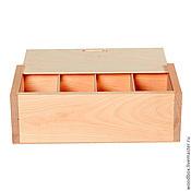 Материалы для творчества handmade. Livemaster - original item Pn24148Ya4 pencil Case with vertical cells 28 14 9 cm.. Handmade.
