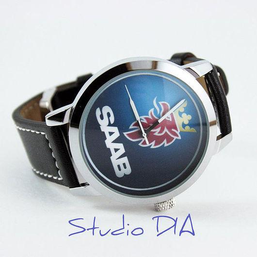 Часы. Наручные Часы. Оригинальные Дизайнерские Часы SAAB. Студия Дизайнерских Часов DIA.