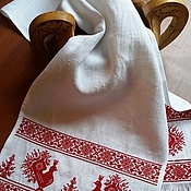 Русский стиль ручной работы. Ярмарка Мастеров - ручная работа Рушник свадебный. Handmade.