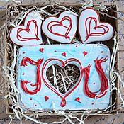 Сувениры и подарки ручной работы. Ярмарка Мастеров - ручная работа I Love you. Handmade.