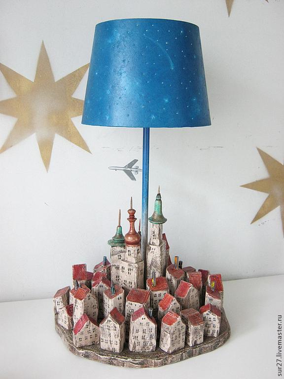 """Лампа """"Город"""", Потолочные и подвесные светильники, Мытищи,  Фото №1"""