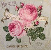 Салфетка Винтвжные розы