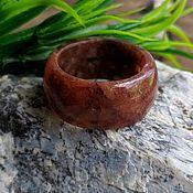Украшения handmade. Livemaster - original item Aventurine ring size 22.. Handmade.