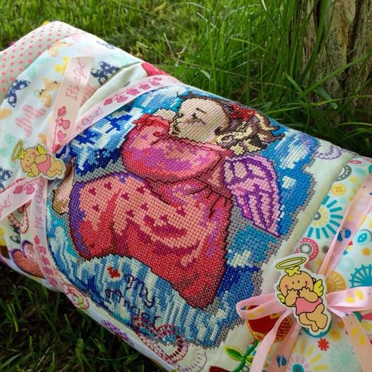 """Пледы и одеяла ручной работы. Ярмарка Мастеров - ручная работа. Купить Одеяло лоскутное детское """"Принцесса Нина"""". Handmade."""