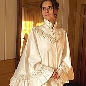 Свадебный салон ручной работы. Ярмарка Мастеров - ручная работа Свадебная пелерина Лебедь белая. Handmade.