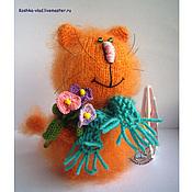Куклы и игрушки ручной работы. Ярмарка Мастеров - ручная работа Романтичный Кот. Handmade.