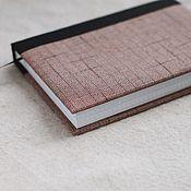 Notebooks handmade. Livemaster - original item Notepad with fabric cover / A5 / Handmade / Diary. Handmade.