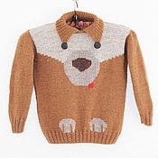 Одежда handmade. Livemaster - original item Sweater knitted handmade cashmere with ornament Buddy. Handmade.