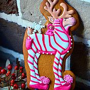 Подарки к праздникам handmade. Livemaster - original item Christmas gingerbread cookies