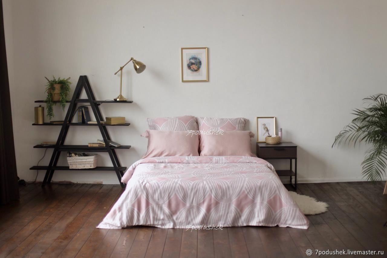 Постельное белье розовое тенсел – купить на Ярмарке Мастеров – JWKW0RU | Комплекты постельного белья, Москва