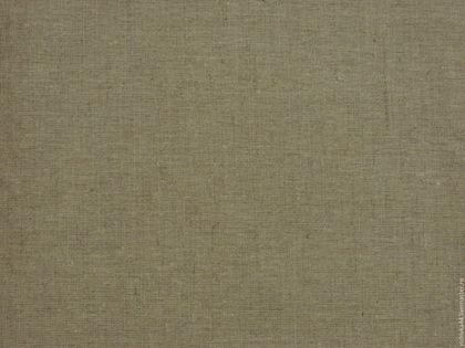 Шитье ручной работы. Ярмарка Мастеров - ручная работа. Купить Ткань Лен натуральный светло-серый плотный №30. Handmade.