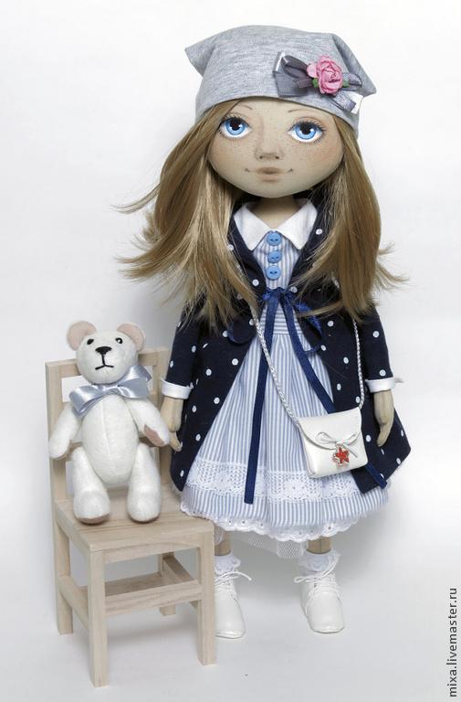 Коллекционные куклы ручной работы. Ярмарка Мастеров - ручная работа. Купить Милана. Handmade. Кукла в подарок, подарок на день рождения