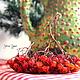 Вазы ручной работы. Рождественский кувшинчик в пупырку. Irinanana. Интернет-магазин Ярмарка Мастеров. Красный, ирина рудая, ель