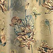 handmade. Livemaster - original item Fabric for curtains, jacquard. Lotus. Handmade.