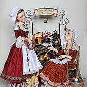 Куклы и игрушки ручной работы. Ярмарка Мастеров - ручная работа Беляночка и Розочка. Handmade.