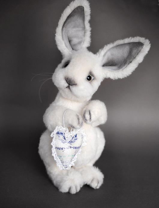 Мишки Тедди ручной работы. Ярмарка Мастеров - ручная работа. Купить кролик Вилли. Handmade. Белый, кролик тедди, гранулят