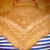Аксессуары handmade. Livemaster - original item The bib is knitted from dog Pooh.. Handmade.