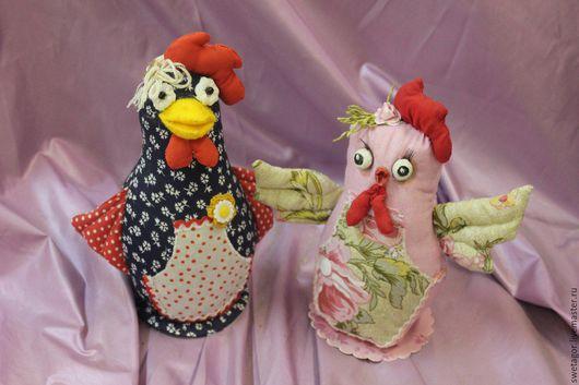 Игрушки животные, ручной работы. Ярмарка Мастеров - ручная работа. Купить Петух(курица)-символ 2017года. Handmade. Ярко-красный