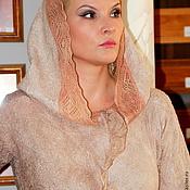 """Одежда ручной работы. Ярмарка Мастеров - ручная работа Жакет """" Мадонна"""" Войлок. Handmade."""