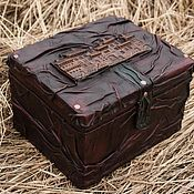 Для дома и интерьера ручной работы. Ярмарка Мастеров - ручная работа Сундук с сокровищами. Handmade.