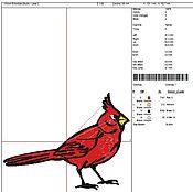 Костюмы ручной работы. Ярмарка Мастеров - ручная работа Кардинал - красная птичка. Handmade.