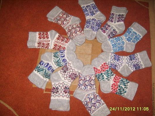 Носки, Чулки ручной работы. Ярмарка Мастеров - ручная работа. Купить Носки из натуральной шерсти. Handmade. Носки, женские