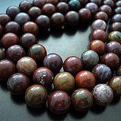 Материалы для творчества handmade. Livemaster - original item Smooth Jasper beads 12mm. Handmade.