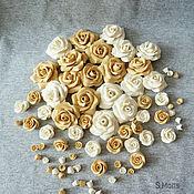 Глина ручной работы. Ярмарка Мастеров - ручная работа Розы из полимерной глины. Handmade.