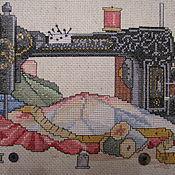 """Картины и панно ручной работы. Ярмарка Мастеров - ручная работа Вышитая картина """" Вышивальная комната"""". Handmade."""