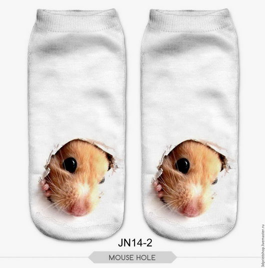 Носки, Чулки ручной работы. Ярмарка Мастеров - ручная работа. Купить Модные эластичные носочки с рисунком,большой ассортимент. Handmade.