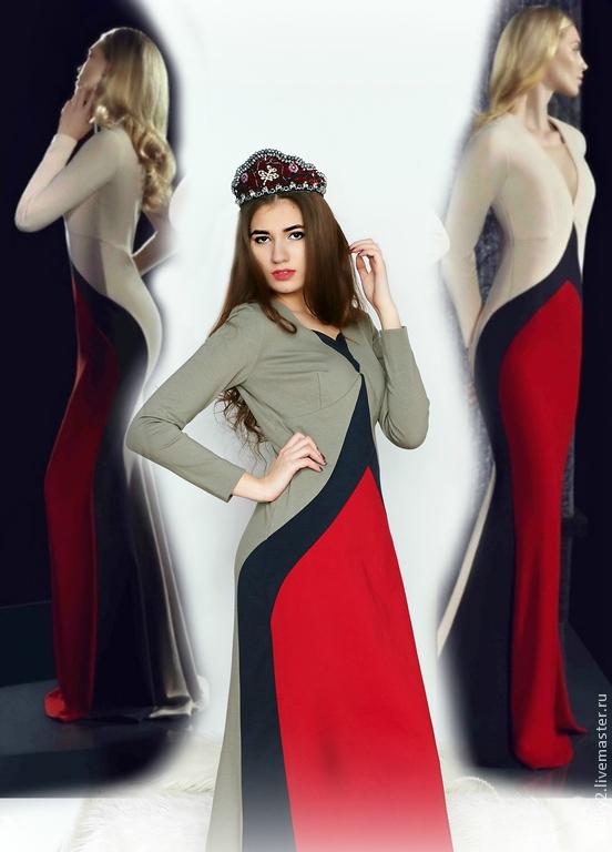 Платье триколор россия купить