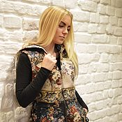 Одежда handmade. Livemaster - original item Designer zipper vest with corset lacing. Handmade.