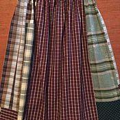 Одежда handmade. Livemaster - original item Skirts: women`s plaid skirt. Handmade.