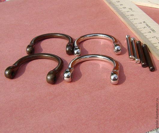 Другие виды рукоделия ручной работы. Ярмарка Мастеров - ручная работа. Купить Ручкодержатель  для сумок- 25 мм. Handmade.