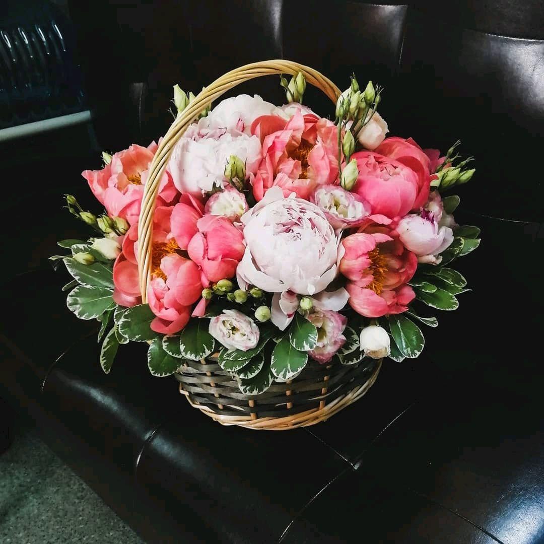 Цветов, букеты из пионов с доставкой москва