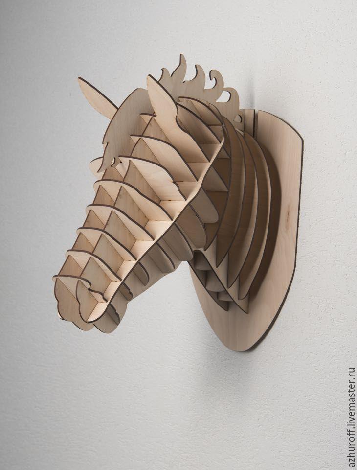 Голова лошади из фанеры 4 мм