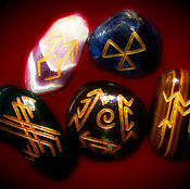 Фен-шуй и эзотерика handmade. Livemaster - original item A copy of the work Stones-helpers from the