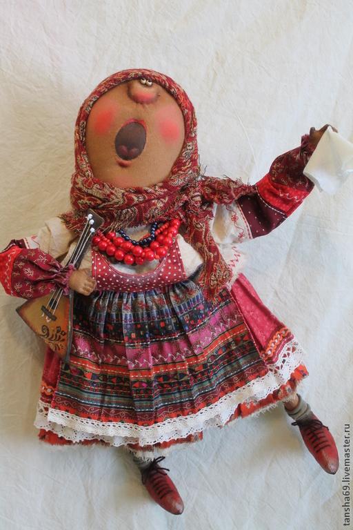 Авторская народная кукла своими руками