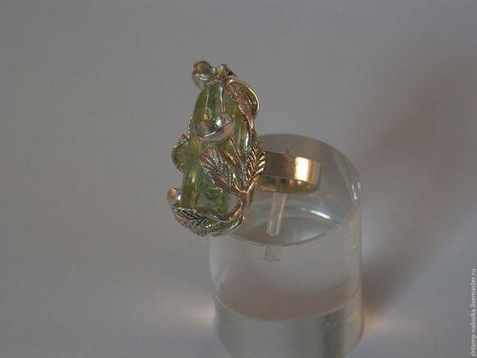 Кольца ручной работы. Ярмарка Мастеров - ручная работа. Купить Кольцо с аквамарином. Handmade. Зеленый, кольцо с камнем, берилл купить