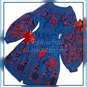 Одежда handmade. Livemaster - original item Dress Embroidery Boho. Handmade.