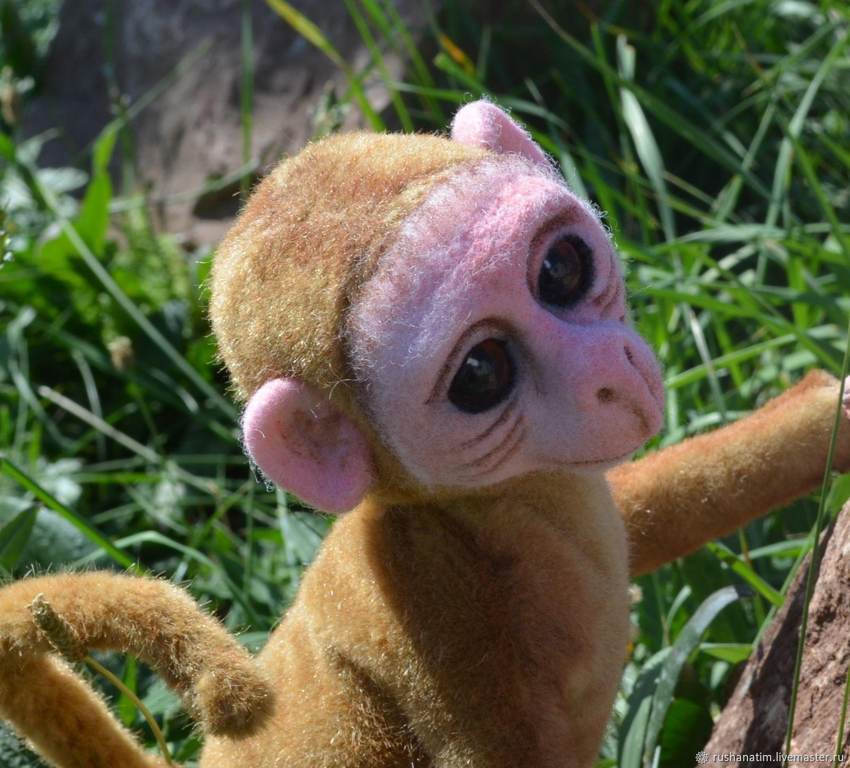 monkey Martin, Stuffed Toys, Simferopol,  Фото №1