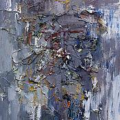 Картины и панно ручной работы. Ярмарка Мастеров - ручная работа ``Серая абстракция 5``. Handmade.