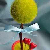 """Цветы и флористика ручной работы. Ярмарка Мастеров - ручная работа Топиарий """"Love is..."""". Handmade."""