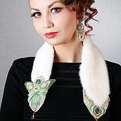 Украшения handmade. Livemaster - original item Necklace: Boa and earrings