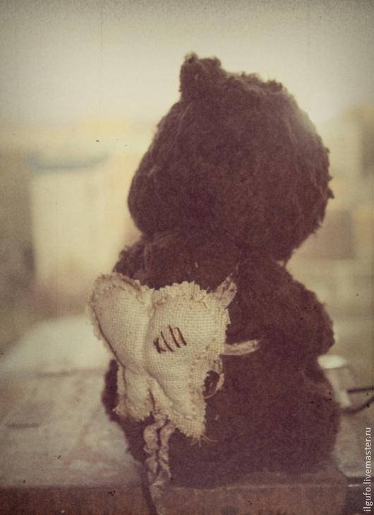 Мишки Тедди ручной работы. Ярмарка Мастеров - ручная работа. Купить ангел радости. авторский мишка тедди ручной работы. Handmade.