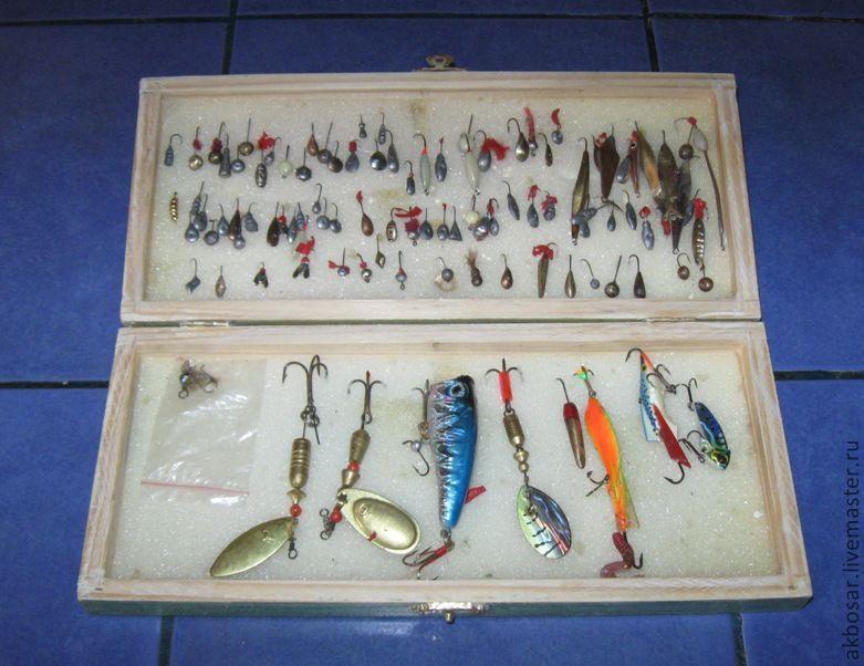 Коробочка для рыбака своими руками 53