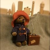 Куклы и игрушки ручной работы. Ярмарка Мастеров - ручная работа Медвежонок Паддингтон. Handmade.